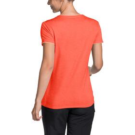 VAUDE Essential Camiseta Mujer, pink canary